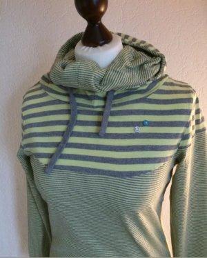 Ragwear Pull à capuche gris-vert pâle
