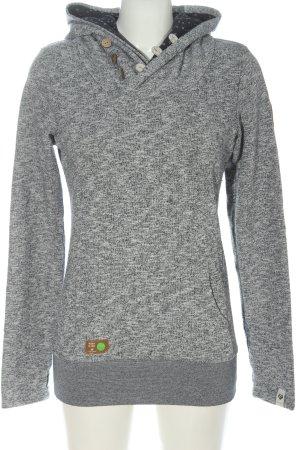 Ragwear Kapuzensweatshirt hellgrau meliert Casual-Look