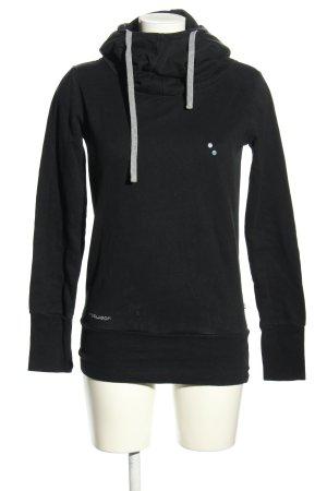 Ragwear Hooded Sweatshirt black casual look