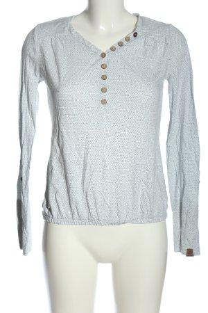 Ragwear Longsleeve light grey allover print casual look