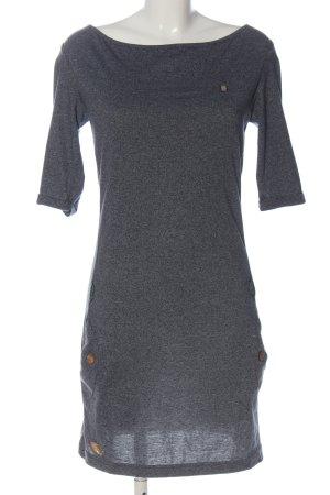 Ragwear Mini Dress light grey flecked casual look