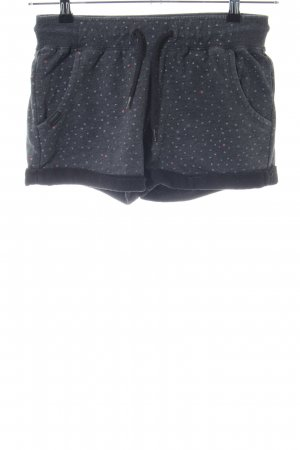 Ragwear Shorts blau-wollweiß Allover-Druck Casual-Look