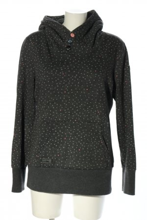 Ragwear Sweat Shirt light grey allover print casual look