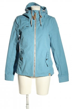 Ragwear Between-Seasons Jacket blue striped pattern casual look