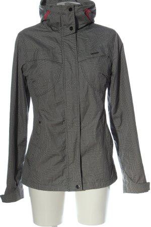 Ragwear Giacca mezza stagione grigio chiaro stampa integrale stile casual