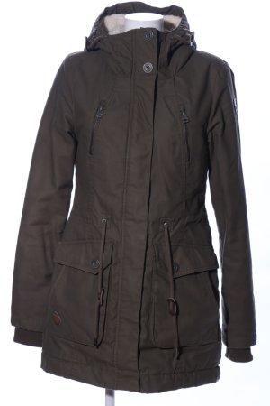 Ragwear Abrigo de invierno marrón look casual