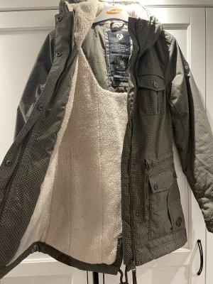 Ragwear Manteau à capuche kaki