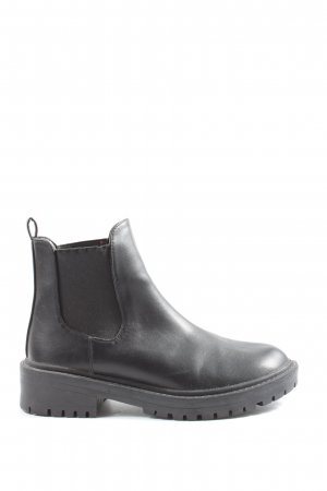 RAID Chelsea Boots black casual look