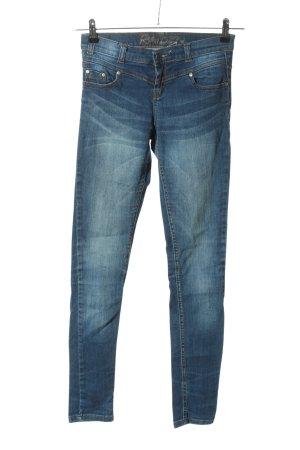 Raiden Jeans vita bassa blu stile casual