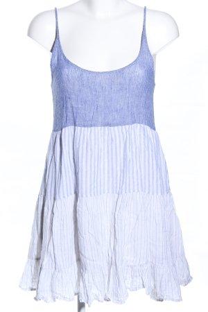 Rails Blusenkleid weiß-blau Streifenmuster Casual-Look