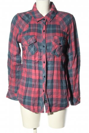Rails Langarmhemd pink-blau Karomuster Casual-Look