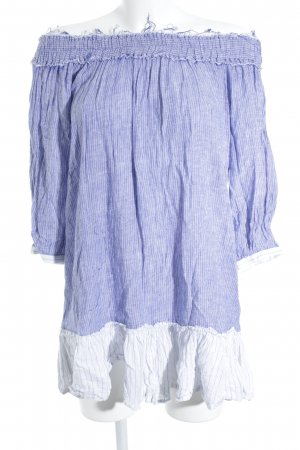 Rails Minikleid kornblumenblau-weiß meliert Casual-Look
