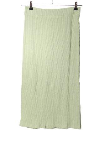 Rails Jupe tricotée vert style décontracté