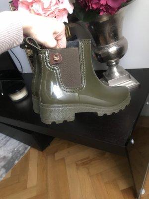 Gioseppo Gumowe buty zielono-szary