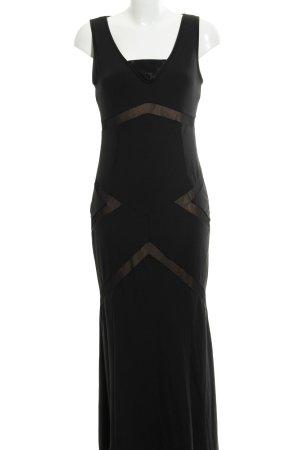 Rainbow Evening Dress black-nude elegant