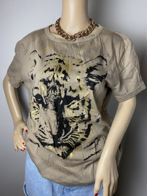rainbow collection gr 44 46 damen animal tiger shirt sommer oberteil