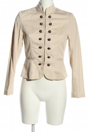 rainbow collection Chaqueta militar crema look casual