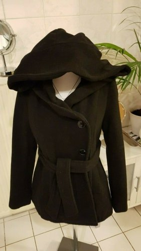 Rainbow Short Coat black