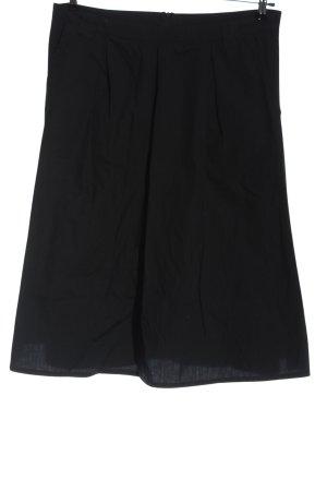 Rainbow Flared Skirt black casual look