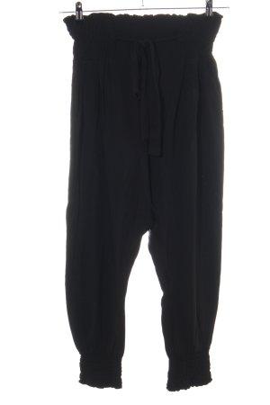 Rainbow Pantalón estilo Harem negro look casual