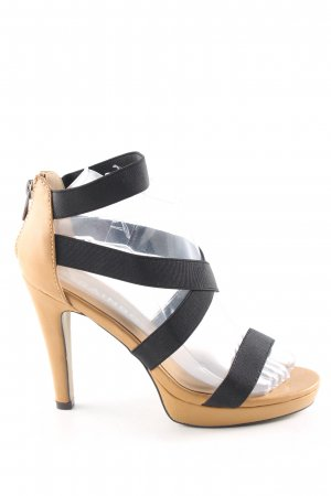 Rainbow High Heel Sandaletten schwarz-creme Casual-Look