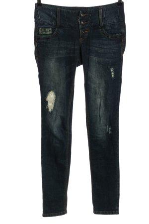 Rainbow Stretch Jeans blau Casual-Look