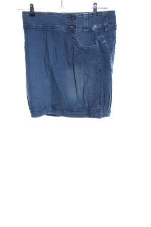 Rainbow Jeansrock blau Casual-Look