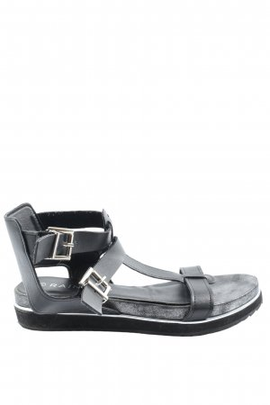 Rainbow Comfort Sandals black casual look