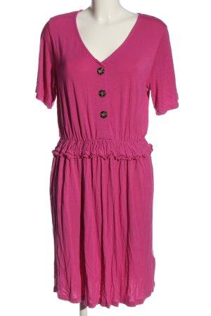 Rainbow Kurzarmkleid pink Casual-Look