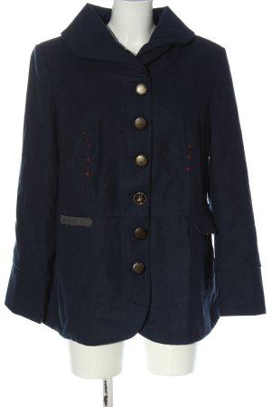 Rainbow Short Coat blue casual look