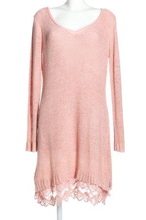 Rainbow Langarmkleid pink Casual-Look