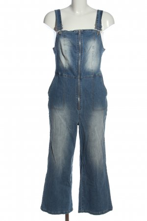 Rainbow Dungarees blue casual look