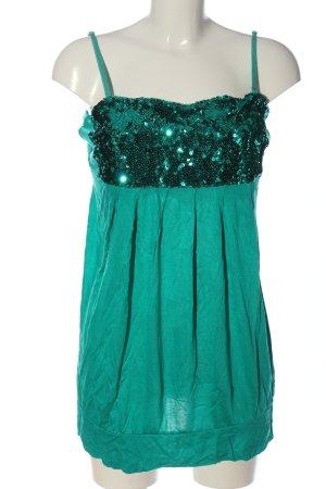 Rainbow Long-Bluse grün Casual-Look
