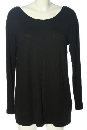 Rainbow Longshirt schwarz Casual-Look