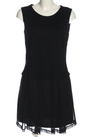 Rainbow A-Linien Kleid schwarz Elegant