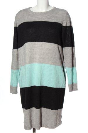 Rainbow Sweater Dress striped pattern business style