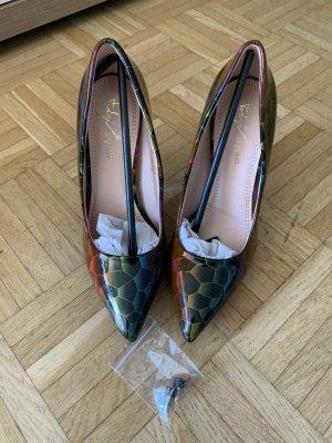 Rainbow Pumps/Heels - Größe 36 - Stiletto - Black/Multicolour