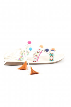 Rainbow Römer-Sandalen grafisches Muster Casual-Look