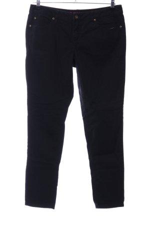 Rainbow Skinny Jeans schwarz Casual-Look