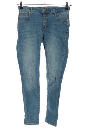Rainbow Skinny Jeans blau Casual-Look