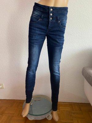 Rainbow Jeans elasticizzati blu scuro