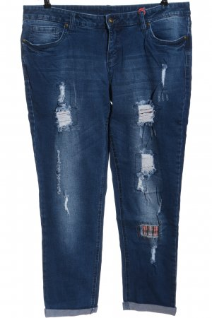 Rainbow Slim Jeans blau Casual-Look