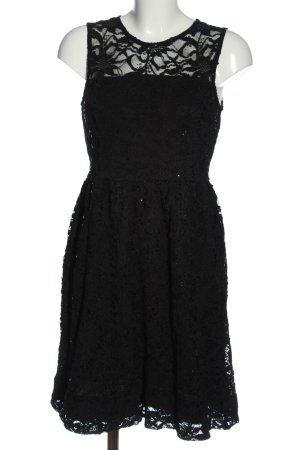 Rainbow Spitzenkleid schwarz Elegant