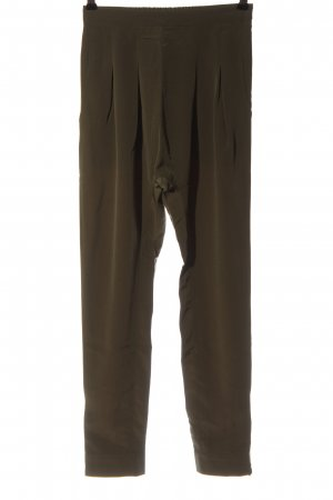Rainbow Jersey Pants bronze-colored flecked casual look