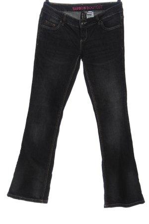 Rainbow Straight-Leg Jeans hellgrau Casual-Look