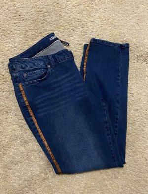 Rainbow Spodnie ze stretchu ciemnoniebieski
