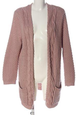 Rainbow Strick Cardigan pink Casual-Look