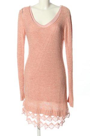 Rainbow Strickkleid pink Casual-Look