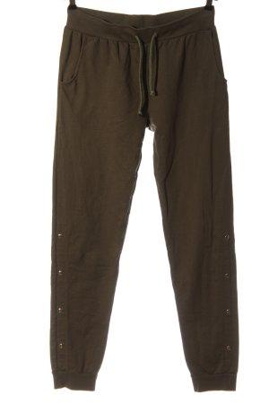 Rainbow Spodnie dresowe khaki W stylu casual