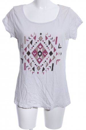 Rainbow T-Shirt grafisches Muster Casual-Look